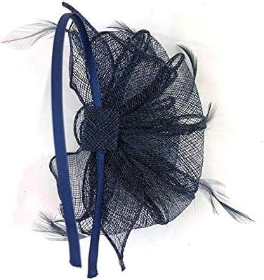 Large Fascinator Headband Aliceband Hat Wedding Ladies Day Royal Ascot Races