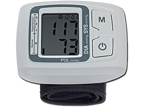 Tensiómetro de muñeca digital medidor de presión arterial digital: Amazon.es: Salud y cuidado personal