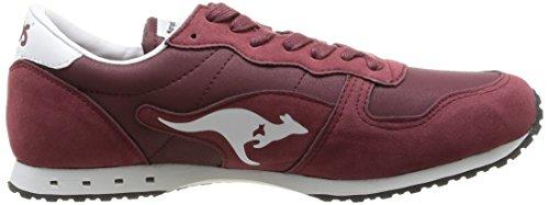 Kangaroos Blaze IV - Zapatillas de Deporte de material sintético hombre Rojo - Rouge (Dk Wine/Burgundy 662)