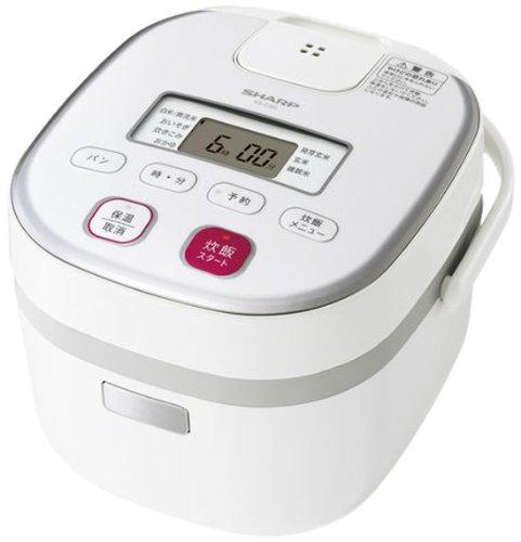 Sharp electronic rice cooker 0.54L type white system KS-C5G-W