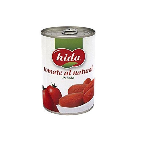 Hida Tomate Al Natural Pelado 390g x 6 Latas - Total: 2340 g: Amazon.es: Alimentación y bebidas