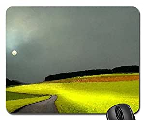 green beauty Mouse Pad, Mousepad (Fields Mouse Pad, Watercolor style) by runtopwell