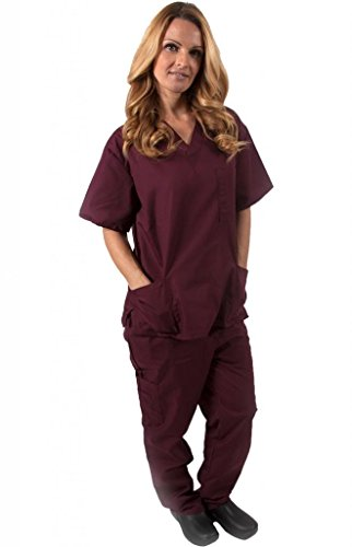 Natural Uniforms Womens 3X Large Burgundy