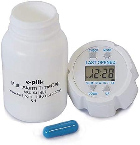 e-Pill TimeCap and Bottle