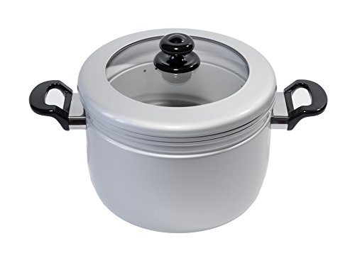 Heuck H30075 Cooker and Steamer Set, 5.5-Quart