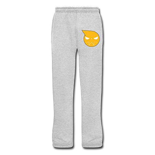 Cozyou Soul Emblem Eater Mens Workout Pants Ash