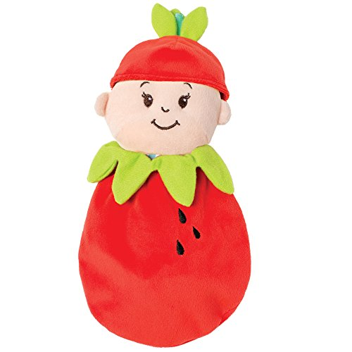 Manhattan Toy 155080 Wee Baby Stella Doll Fruit Suit, (2.5L x 4W x 12H Inches) - Strawberry