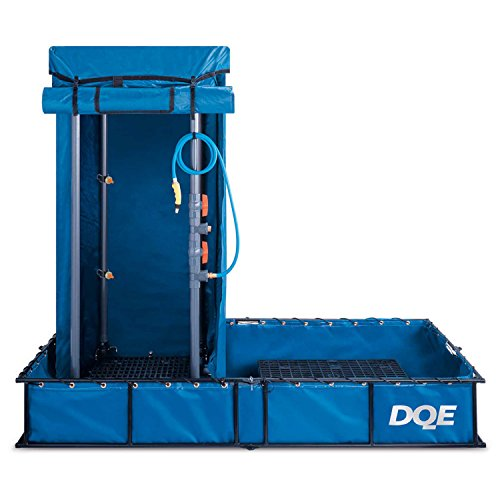 DQE Standard Decon Shower System - Aluminum Pool by DQE (Image #1)