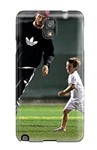 New Arrival Premium Note 3 Case Cover For Galaxy (david Beckham Soccer) 3982555K59812259
