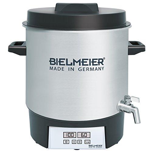Bielmeier 411100 Einkochautomat Digital mit Auslaufhahn aus Volledelstahl BHG 411.1