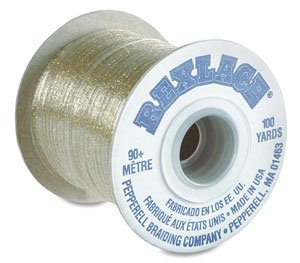Plastic Craft Lace (Rexlace - Plastic - Neon Red - 100 yards)