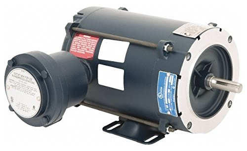 1/2 hp 1,800 Max RPM Explosion Proof Motor 56C NEMA Frame, 230/460 Volts, 7537; Efficiency at Full Load