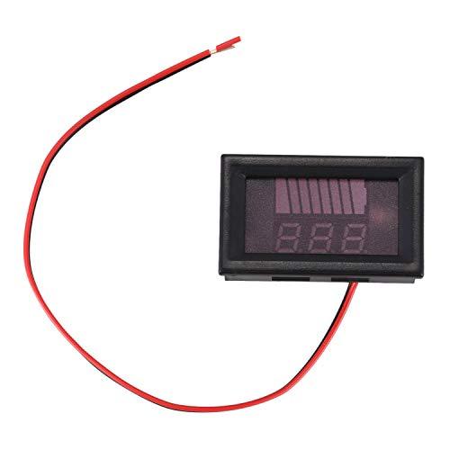 SODIAL 12V-60V electric car battery meter display DC digital lithium battery car voltmeter: