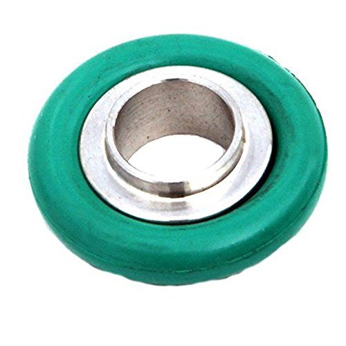 KF-40/ NW-40 Vacuum Fittings, Vacuum Center Ring Made of Aluminum, O-ring = FKM Viton ( lot of 10pcs, Color May Vary) by LAB OUTLET (Image #1)