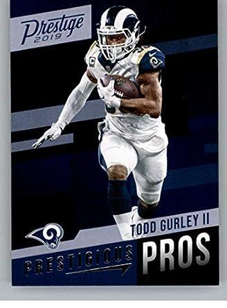 huge selection of 6df00 e23fc Amazon.com: 2019 Prestige NFL Prestigious Pros #5 Todd ...