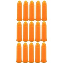 AR-GEAR Inert 0.38 Special Smith and Wesson Spl Spc Pistol Safety Trainer Cartridge Dummy Ammunition Ammo Shell Rounds, 15 Piece