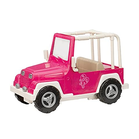 Our Generation Dolls My Way & Highway 4X4 for Dolls (4 Piece), 18