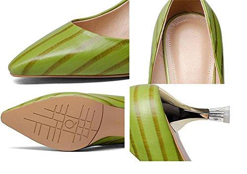 Zapatos genuina Gatito piel de mujer Tac 0wqz40
