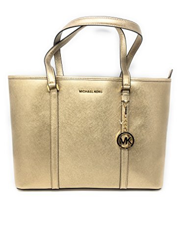 Michael Kors Gold Handbag - 6