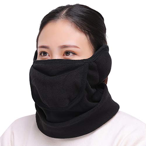 QBQCBB N95 Face Masks Daily Protective Masks PM2.5 Dust Mask for Away from Viruses Flue 6/12/24/48 Pc (Black, Freesize)