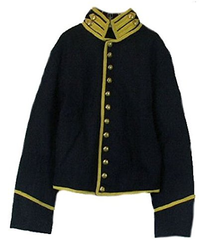 Military Uniform Supply Kids Civil War Reproduction Federal Cavalry Shell Jacket (14)
