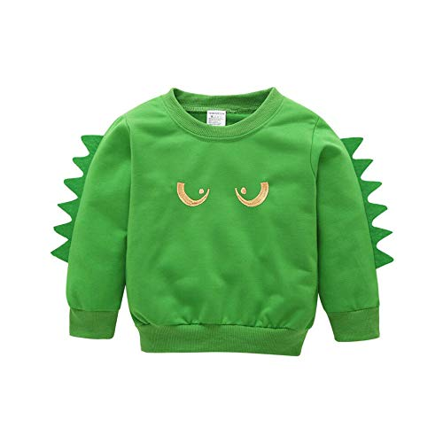 Design Perfect Wedding Dress - Newest Cute Fall Shirt Tops For Kids Baby Boy,Long Sleeves Animal Cartoon Pullover Sweatshirt Blouse Tunic (Age:6-12 Months, Green)