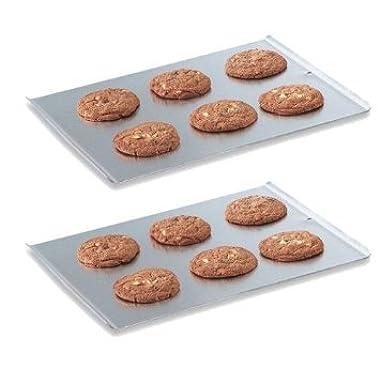 Vollrath 68085 Natural Finish Aluminum 17-7/8  X 14  Cookie Sheet (2)