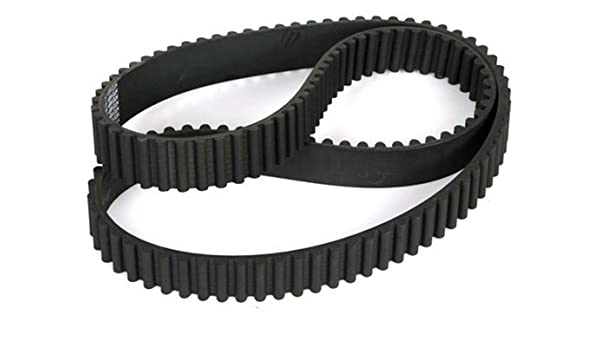 Mfg Code 1-093 2.06 mm Tooth Height, 5 mm Over All Height 25 mm Wide 350 mm Long 5 mm Pitch 70 Teeth 3505M25 Ametric/® HTD Rubber Timing Belt