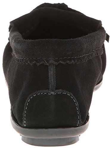 We Suede Moccasins Black Minnetonka Me Women's to 403J BSqat0g