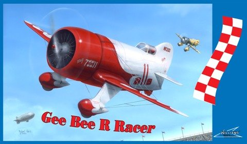 WILLIAMS BROTHERS 32511 1/32 Gee Bee R Racer - Bee Airplane Gee