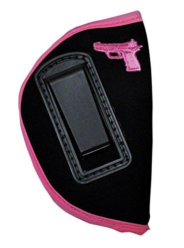 KING HOLSTER Inside Waistband Concealed IWB Gun Holster for Women fits Taurus Snub Nose Revolver 38 Cal. Model 85/605 / 850/856 | 9mm Model 905 | M380
