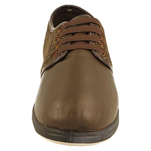 Padders - Zapatillas de estar por casa para hombre Marrón marrón