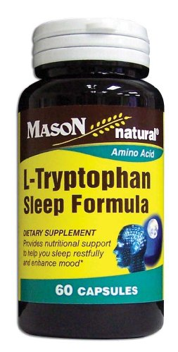 Mason Vitamines L-tryptophane Capsules Formule Sommeil, 60-Count Bottle