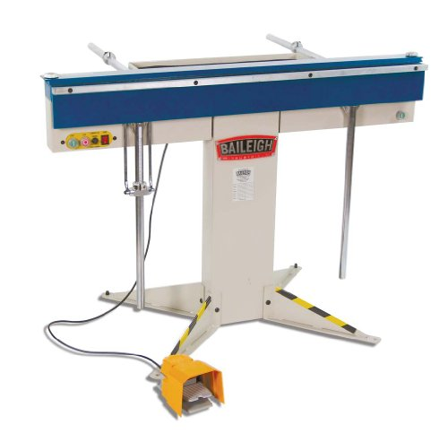 Baileigh BB-4816M Manual Magnetic Sheet Metal Box and Pan Brake, 1-Phase 220V, 16-Gauge Mild Steel Capacity, 48