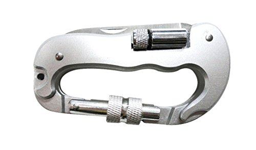 Price comparison product image AMC Camping Multifunction Carabiner Pocket Knife,  Saw