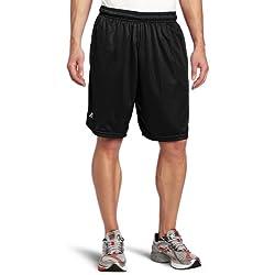 Russell Athletic Men's Mesh Pocket Short, Black, X-Large