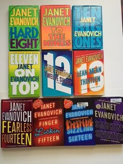 (Janet Evanovich (Set of 10) Stephanie Plum #8- #17: Hard Eight ... Smokin' Seventeen)