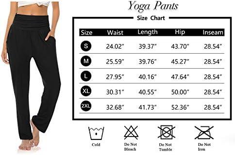 OYANUS Womens Yoga Sweatpants Wide Leg Loose Comfy Lounge Pants Workout Joggers Pants with Pockets 6