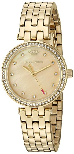 Juicy Couture Women's 'Cali' Quartz Tone and Gold Plated Quartz Watch(Model: 1901468)