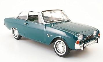 Ford Taunus 17m P3 Grun Weiss Badewanne 1960 Modellauto