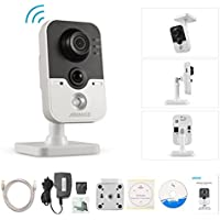 ANNKE 1080p HD Wireless Security Camera, 2.0MP WiFi IP Camera with 1/2.8 Progressive Scan CMOS, Two Way Audio, PIR Detection,WPS network connection