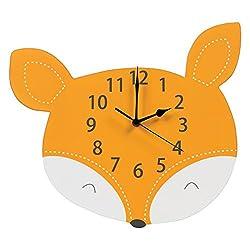Trend Lab Fox Wall Clock, Orange