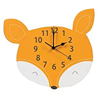 Trend Lab Fox Wall Clock, Orange