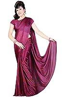 purple très joli Saree / Sari dans Bollywood