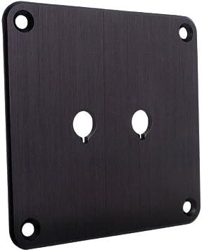 Dayton Audio SBPP-BK Binding Post Plate Black Anodized