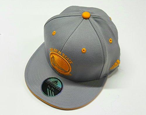 Golden State Warriors Flat Bill Fitted Flexfit Adidas Hat Size L/XL M587Z