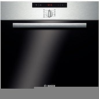 Einbauherd Bosch Edelstahl Pyrolyse Hba64b152 F Amazon De Elektro