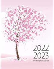 2022-2023 Monthly Planner: 2 Year Calendar 2022-2023 Monthly Planner | 24 Months Agenda Planner with Holidays | 2-Year Large Monthly Planner Academic Schedule Pink