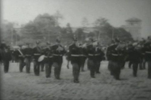 Parade of Marines, U.S. Cruiser,