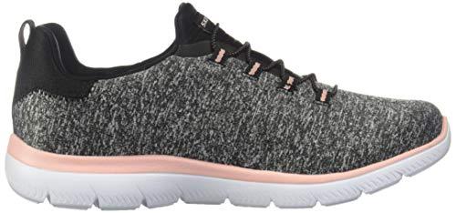Skechers Women's Summits-Quick Getaway Sneaker, Bkg, 7.5 M US